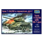 Модель UNIMODELS Танк Т-34/85 с 85-мм пушкой Д-5-Т (UM327) фото №1
