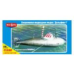 Модель Micro-Mir Сверхмалая подводная лодка Дельфин-1 (MM35-005) фото №1