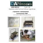 Модель DAN models Стремянка авиационная техническая № 4 55 мм (DAN48512) фото №4