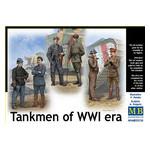 Модель Master Box Танкисты первая мировая война (MB35134) фото №1