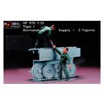 Модель Hobbyfan Экипаж танка Тигр I (HF570) фото №1
