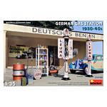 Модель Miniart Набор Немецкая Заправочная Станция 1930-40 гг. (MA35598) фото №1