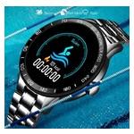 Умные часы Smart Lige Omega Black фото №4