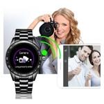 Умные часы Smart Lige Omega Black фото №8