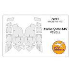 Маска для модели KV Models Вертолет Eurocopter EC-145 (KVM72261) фото №1