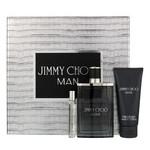 Набор Jimmy Choo Jimmy Choo Man для мужчин (оригинал) - set (edt 100 ml + edt 7.5 ml mini + asb 100 ml)  фото №1