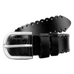 Женский кожаный ремень AMO STAMO3002-black фото №1