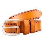 Женский кожаный ремень AMO STAMO3002-mogano фото №3