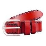 Женский кожаный ремень AMO STAMO3002-red фото №3