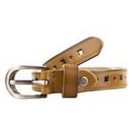 Женский кожаный ремень AMO STAMO3015-green фото №3