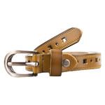 Женский кожаный ремень AMO STAMO3015-green фото №2
