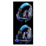 Наушники Kotion Each G2200 с вибрацией (Черно-синий) фото №14