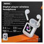Наушники Remax Digital Player TWS-19 Белые фото №8