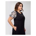 Платье Селеста кружево 50 Черный фото №3