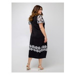 Платье Селеста кружево 50 Черный фото №4