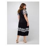 Платье Селеста кружево 52 Черный фото №5