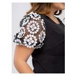 Платье Селеста кружево 56 Черный фото №4