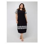 Платье Селеста кружево 56 Черный фото №3