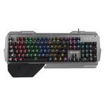 Клавиатура игровая Meetion Gaming RGB Backlit MK-20 черно-серая фото №2