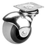 Опора колесная FZB 50 мм шар цинк (3-017-004) фото №1