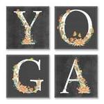 Картина по номерам YOGA, лофт ??? СН118 фото №1