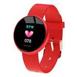 Фитнес-браслет Lemfo B36 для женщин (Красный) фото №6