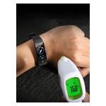 Фитнес-браслет Lemfo E66 с измерением температуры и тонометром (Черный) фото №8