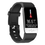 Фитнес-браслет Lemfo T1 с измерением температуры тела (Черный) фото №6