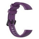 Силиконовый ремешок Primo для фитнес-браслета Huawei Honor Band 4 / 5 - Purple фото №4