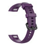 Силиконовый ремешок Primo для фитнес-браслета Huawei Honor Band 4 / 5 - Purple фото №2