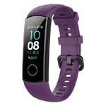 Силиконовый ремешок Primo для фитнес-браслета Huawei Honor Band 4 / 5 - Purple фото №3