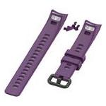 Силиконовый ремешок Primo для фитнес-браслета Huawei Honor Band 4 / 5 - Purple фото №1
