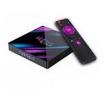 Android TV приставка Rockchip TV BOX H96 MAX |RK3318, 2GB RAM, 16GB ROM| black (12638) фото №1