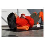 Йога роллер набор 3 в 1 PowerPlay 4022 Черно-Оранжевый фото №9