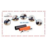 Йога роллер набор 3 в 1 PowerPlay 4022 Черно-Оранжевый фото №7