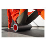 Йога роллер набор 3 в 1 PowerPlay 4022 Черно-Оранжевый фото №6