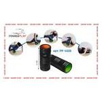 Массажный ролик PowerPlay 4025 Черно-Оранжевый фото №3