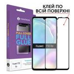Стекло защитное MakeFuture для Huawei P30 Lite Black Full Cover Full Glue (MGF-HUP30L) фото №1