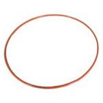 Обруч гимнастический S4S 96 см металл оранжевый L11 фото №1