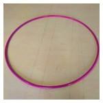 Обруч гимнастический S4S 96 см металл фиолетовый L11 фото №1