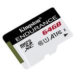 Карта памяти Kingston MicroSDXC 64GB UHS-I Class 10 High Endurance (SDCE/64GB) фото №1