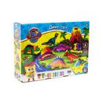 Набор креативного творчества Danko Toys Тесто для лепки Master Do Динозавры-6 укр (TMD-10-04U) фото №1