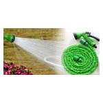 Садовый увеличивающийся поливочный шланг X-hose 30 м 100FT steel с распылителем для полива (М6907) фото №3