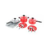 Набор посуды Orion Iriska 1 Красный (348ORRed) фото №1