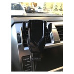 Беспроводное зарядное устройство Charger M800 для автомобиля с технологией Qi fast charge Черное (18WR08) (18WR08) фото №6