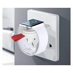 Беспроводное зарядное устройство UTG-T Charger Apple Watch Portable Magnetic Charger White (qww150) фото №1