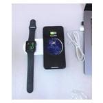 Беспроводное зарядное устройство UTG-T Charger Wireless 2 в 1 с технологией QI для iPhone, Apple Watch (qww07) фото №1
