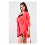 Комплект Лиана Ghazel 17111-56 Размер 44 красный халат/красный пеньюар фото №5