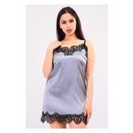 Комплект Лиана Ghazel 17111-56 Размер 46 серый халат/серый пеньюар фото №1