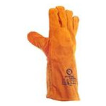 Перчатки Intertool замшевые краги 35 см х 14 коричневые (SP-0157W) фото №2